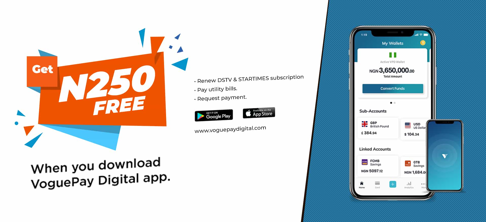 Download the vpd app now