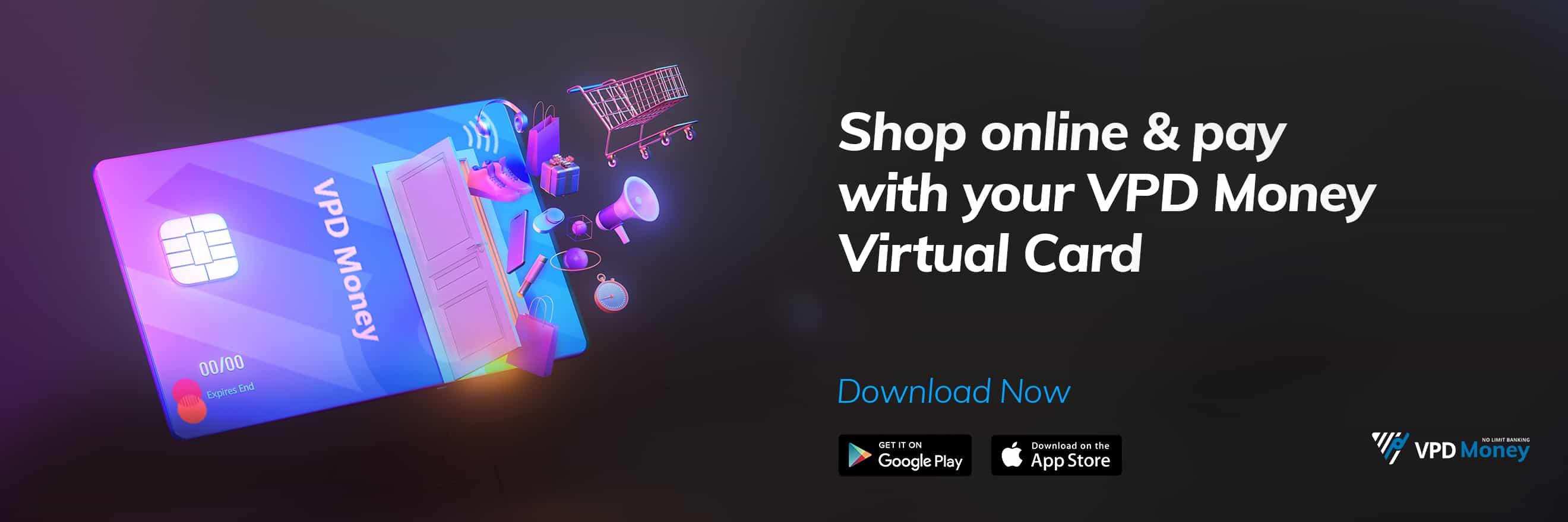Shop online with VPD money